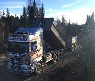 Scania R490 8x4 with Allison fully automatic transmission from 4000 Series