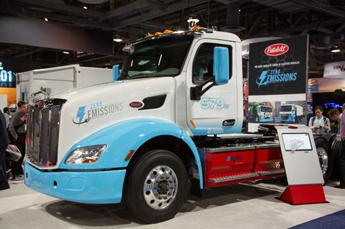 Компания Allison Transmission предоставила свой электрический мост для испытания на мощном электрическом грузовике Peterbilt 8 класса грузоподъемности