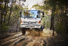 Hino gives Australian fire fighters and outback workers a safer and easier to drive with an Allison Automatic