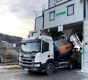 艾里逊自动变速箱在混凝土运输中提供驾驶舒适感