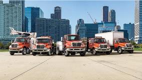 International trucks equipped with Allison transmissions