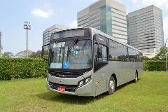 Front-engine bus with Allison's automatic transmission receives praise from fleet owners and drivers