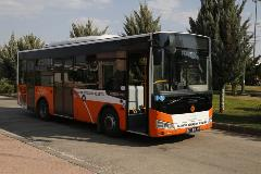 Otokar Doruk 220 LE low-floor bus equipped with an Allison Torqmatic T 280 transmission.