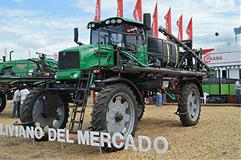 Tractor at Expoagro in Buenos Aires, Argentina.