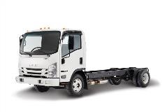 Isuzu's New Gasoline-Powered Class 5 Truck Features Allison Transmission with Power Takeoff Option