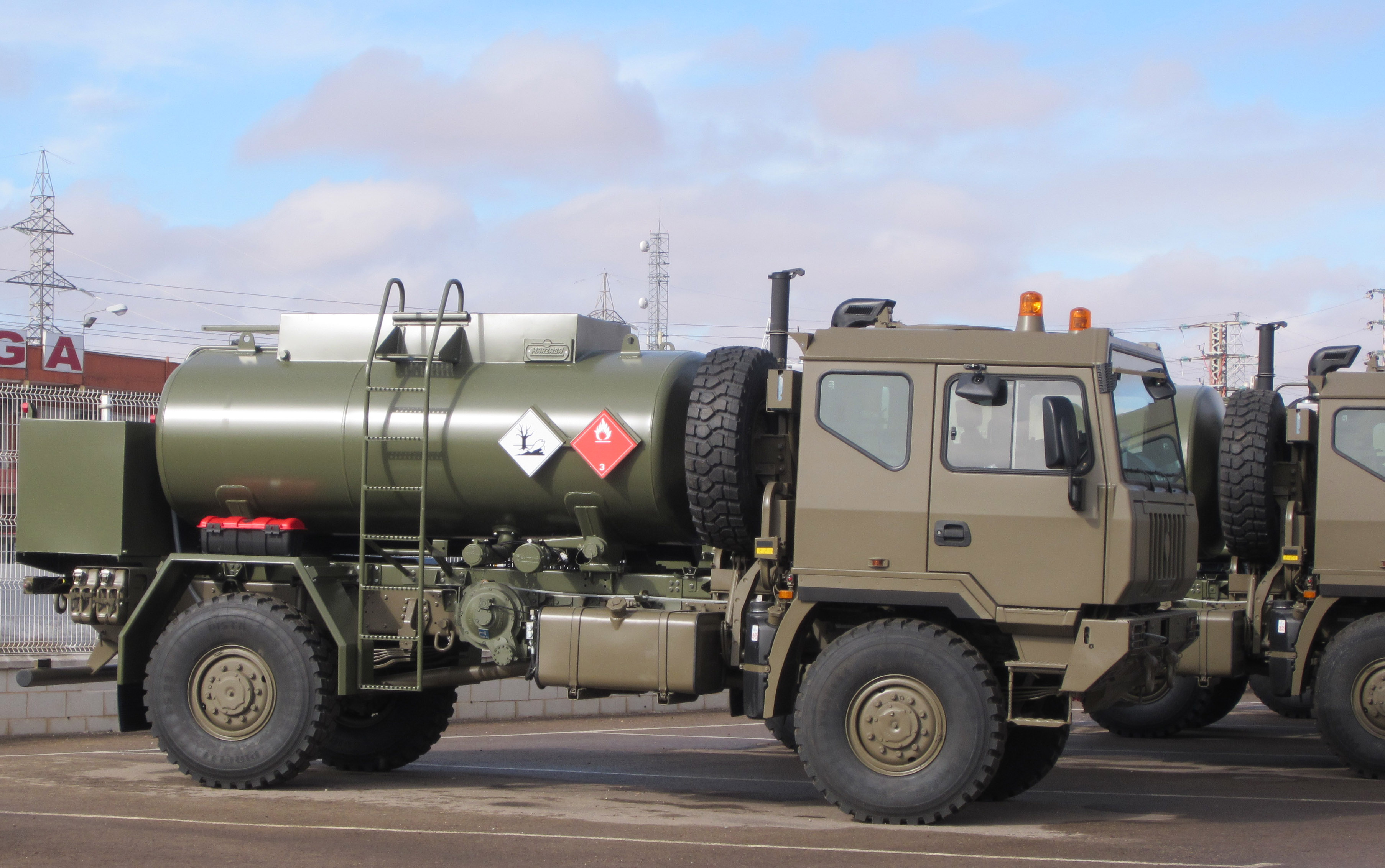 Iveco Defence Vehicles equipped with Allison transmissions