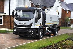 Merlin CNG IVECO truck