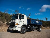 Allison-equipped Hino 500 Series truck