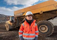 Volvo A60H dump truck with Allison 6630 ORS transmission