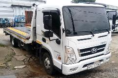 Yangju Rental Chooses Allison-Equipped Hyundai Mighty Truck for Delivering High-Lift Swap Trailers